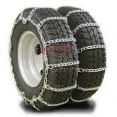 "Twist Link Tire Chain - Double For 24.5"" tires (Set of 2)"