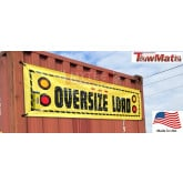 "Oversize Load Banner, Wirelessly Lit 96"" Wide (Towmate)"