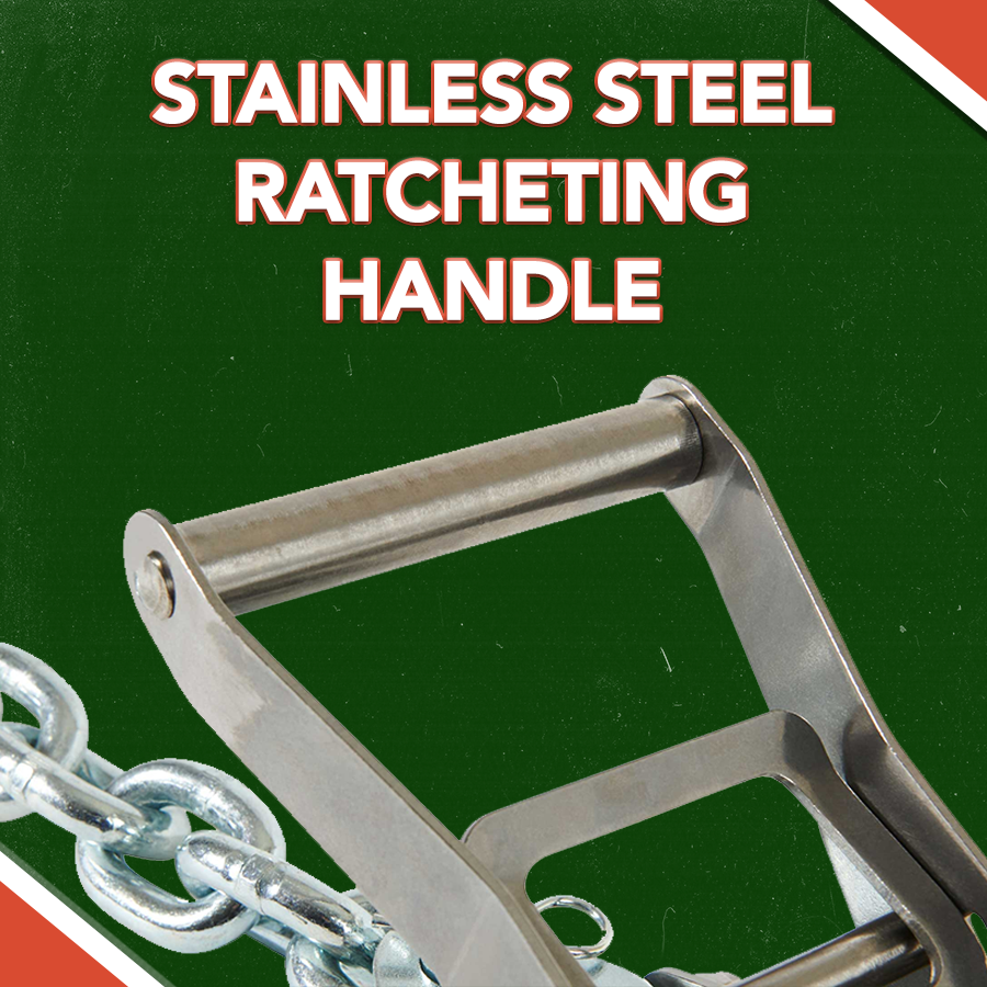 STAINLESS STEEL RATCHETING HANDLE
