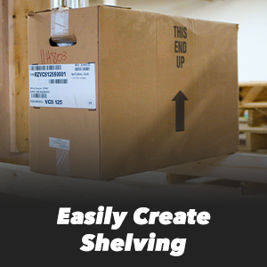 Easily Create Shelving