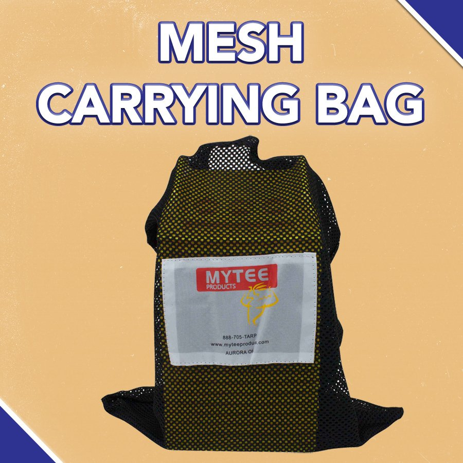 INCLUDED MESH CARRYING BAG