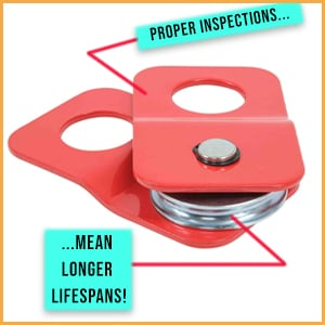 How To Inspect Snatch Blocks for Winches with Hooks!