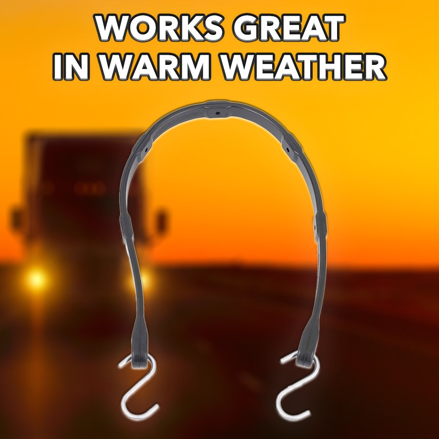 THE IDEAL BUNGEE STRAP FOR WARM WEATHER