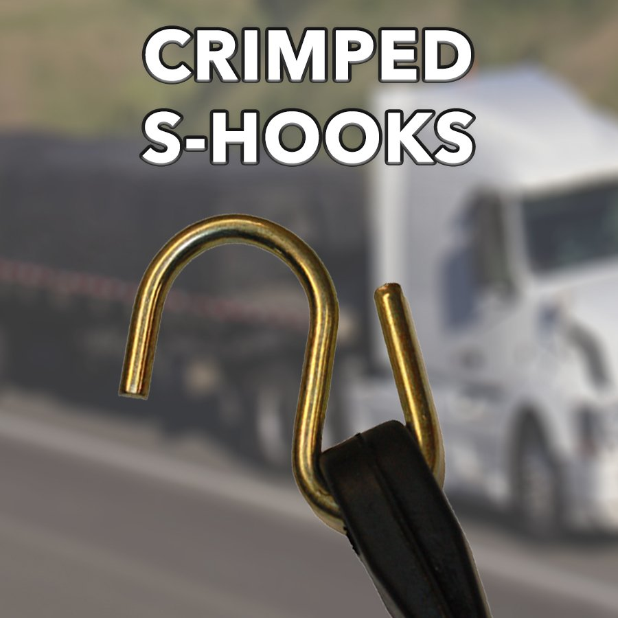 CRIMPED S-HOOKS