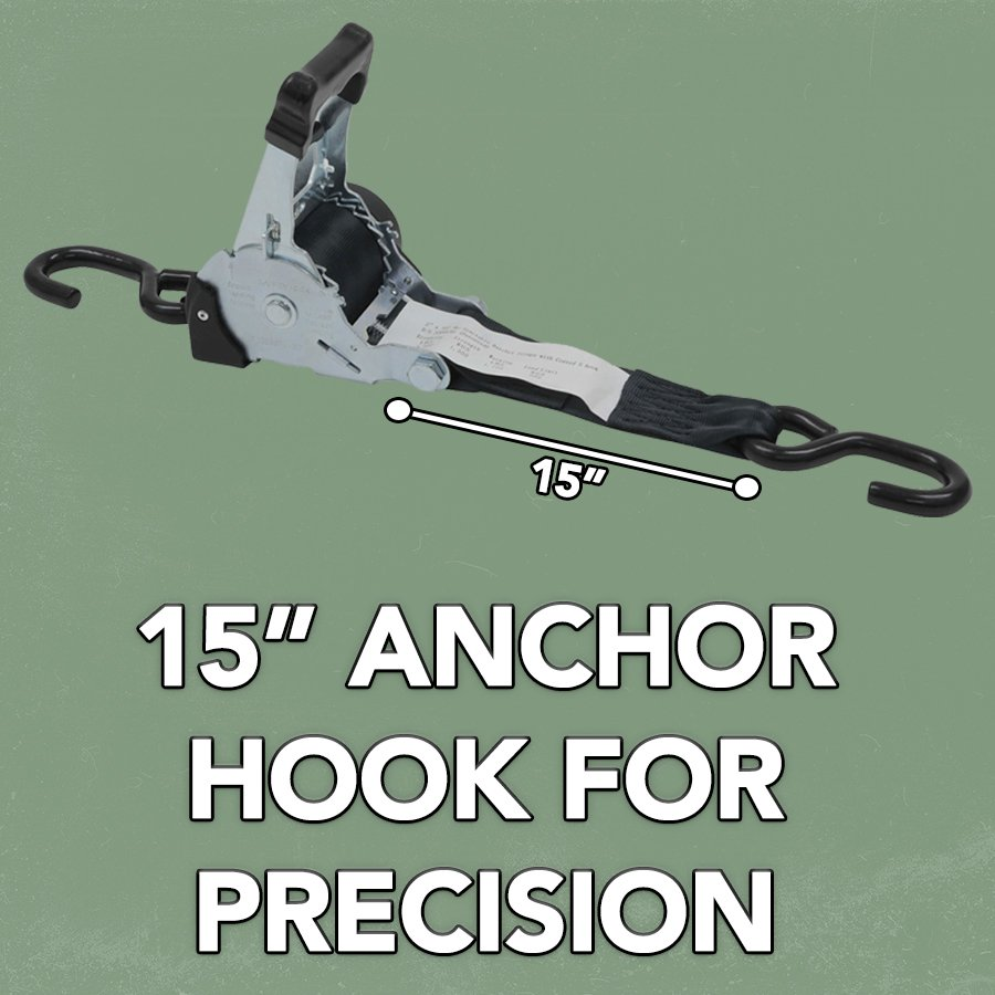 "15"" ANCHOR HOOK FOR PRECISION"