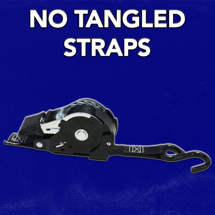 NO MORE TANGLED STRAPS