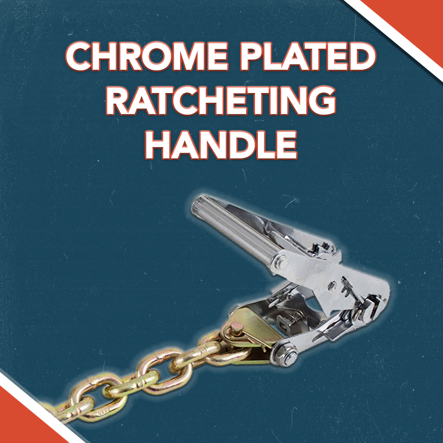CHROME PLATED RATCHETING HANDLE